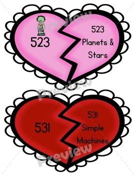 """A Valentine Dewey Hunt BUNDLE Featuring the """"Valentine Zombies"""" and """"Love Bugs""""!"""