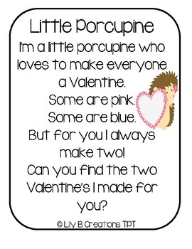 A Valentine From A Porcupine