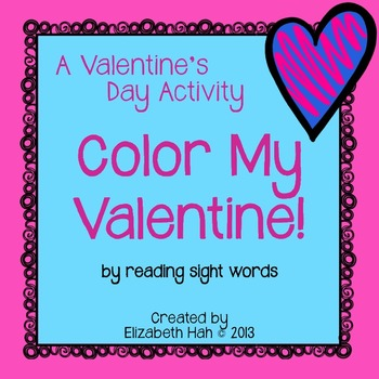A Valentine's Day Activity: Color My Valentine