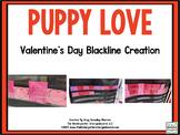 Valentine's Day Blackline Math and Literacy Centers