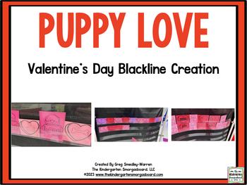 A Valentine's Day Blackline Math and Literacy Center Creat