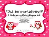 A Valentine's Day Math & Literacy Unit  for Kindergarten