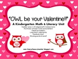 A Valentine's Day Math & Literacy Unit  for Kindergarten