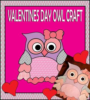 A Valentine's Day Owl Craft