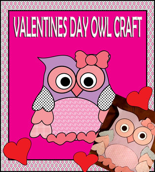 A Valentine's Day Owl Craft