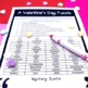 Valentine's Day Following Directions Worksheet FREE