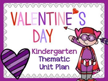 Valentine's Day Unit Plan