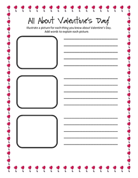 A Valentine's Day Writing Pack