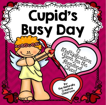 Cupid's Busy Day: A Valentine Math Game on the 100's Chart