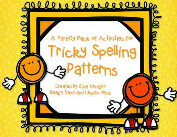 A Variety of Activities for Tricky Spelling Patterns
