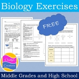 [FREEBIE] Biology Exercises [14 Printable Exercises]