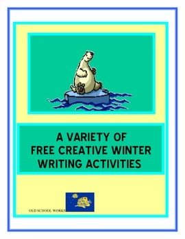 creative winter writing activities by old school works tpt. Black Bedroom Furniture Sets. Home Design Ideas