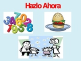 """A Variety of Short, Fun, """"Do Now"""" Activities in Spanish!"""