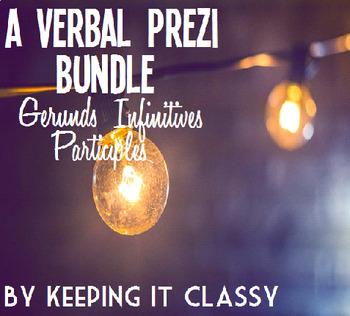 A Verbal Prezi Bundle--Gerunds, Infinitives, and Participles