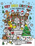 A Very Emoji Christmas-24 Coloring Book Pages