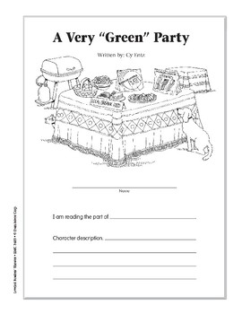 "A Very ""Green"" Party (Leveled Readers' Theater, Grade 5)"