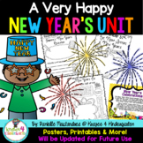 A Very Happy New Year's Unit {Common Core Aligned}