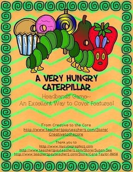 A Very Hungry Caterpillar Headbands Game!