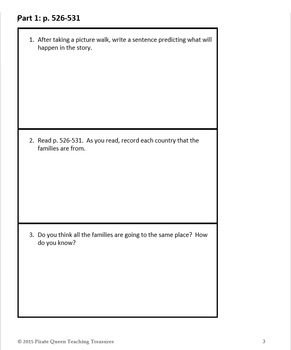 A Very Important Day Comprehension Questions/Common Core Aligned
