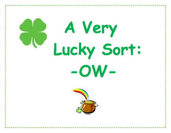A Very Lucky Sort: OW