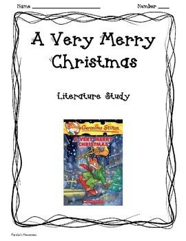 A Very Merry Christmas Geronimo Stilton