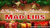 A Very Merry Christmas Mad Libs