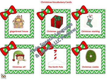 A Very Merry Christmas-Themed Pre-K Speech, Language & Literacy Unit