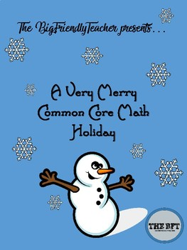A Very Merry Common Core Math Holiday