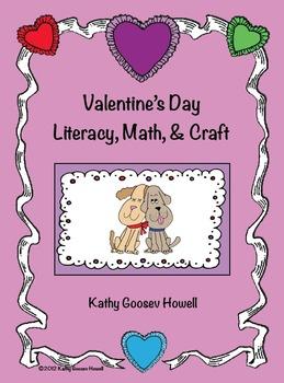 Valentine's Day Literacy, Math, & Craft