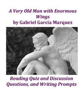 christian character in a very old man with enormous wings by gabriel garcia marquez Today, one of my favorite writers, gabriel garcia marquez passed away he greatly influenced my writing, my understanding of literature, and today, i.