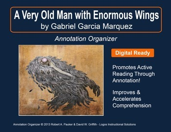 """""""A Very Old Man with Enormous Wings"""" by G.G. Marquez: Anno"""