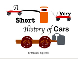 A Very Short History of Cars