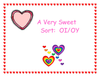 A Very Sweet Sort: OI/OY