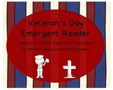 A Veteran's Day Printable Reader