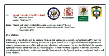 A Viajar - Spanish 2 Travel Project