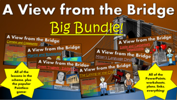 A View from the Bridge Big Bundle! (All lessons, worksheet