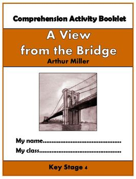 A View from the Bridge Comprehension Activities Booklet!