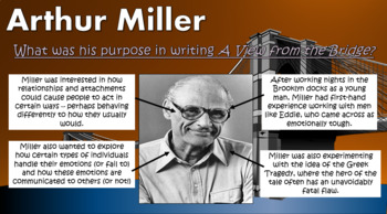 A View from the Bridge: Miller's Language Devices