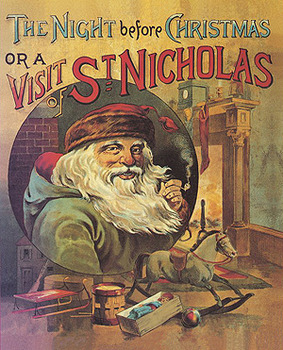 A Visit From Saint Nicholas Creative Parody Activity