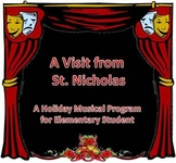 """A Visit from St. Nicholas"" Holiday Musical Program with background tracks"