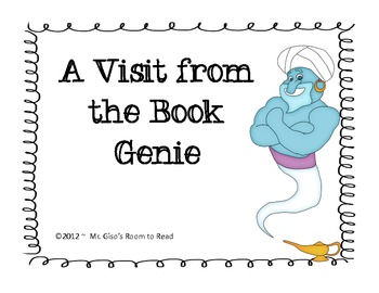 A Visit from the Book Genie!