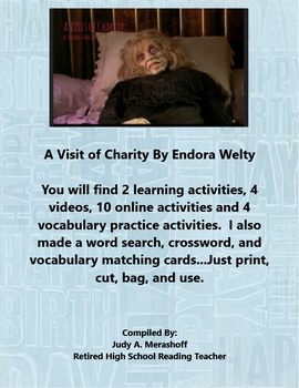 A Visit of Charity by Endora Welty