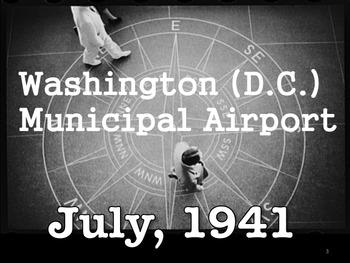 Washington (D.C.) Municipal Airport — July, 1941 images  by Jack Delano, FSA