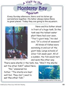 A Visit to the Monterey Bay Aquarium