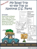 My Road Trip to the Top Ten National U.S. Parks
