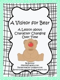 A Visitor for Bear Character Change and Writing Galore!