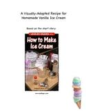 A Visually-Adapted Recipe for Homemade Vanilla Ice Cream