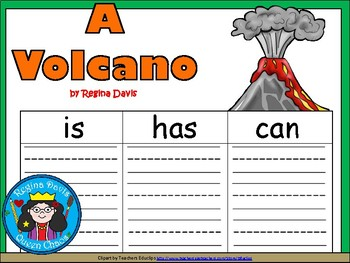 A+ Volcano ...Three Graphic Organizers