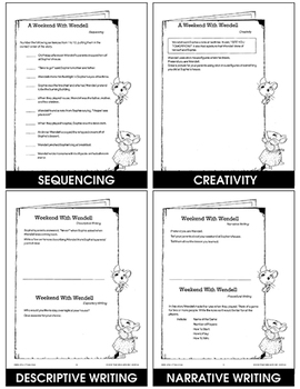 A WEEKEND WITH WENDELL - STUDY GUIDE Gr. 2-4