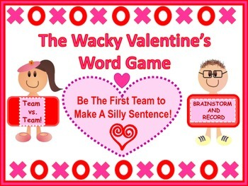 A Wacky Fun Valentine's Word Game For All Ages